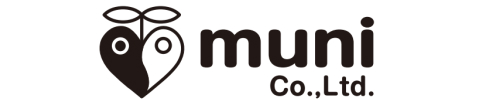 株式会社muniロゴ黒